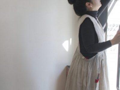 【北千住店にて】11/23(土)より早川ユミ『 かっぽう着と冷えとりの衣服展』
